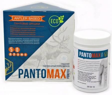 Пантомакс пантовые орешки FORTEX, 50 драже в Ессентуках — купить недорого по низкой цене в интернет аптеке AltaiMag